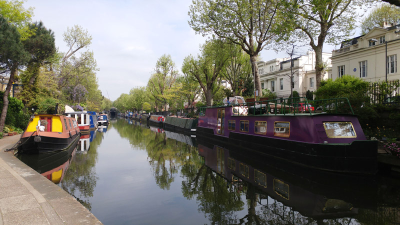 Little Venice - férias em Londres