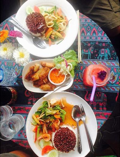 Gastronomia na Tailândia