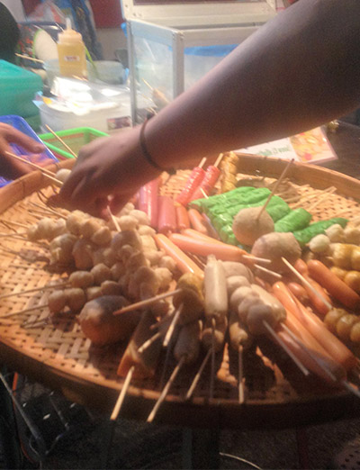 Comida de rua - Tailândia