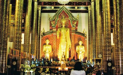 Wat Chediluang Main Temple - Tailândia