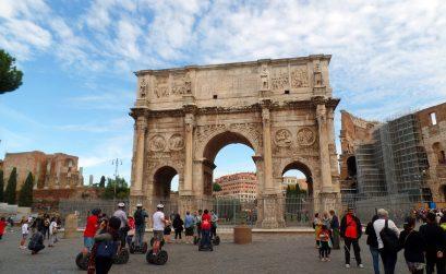 Viagem a Itália - Arco de Constantino