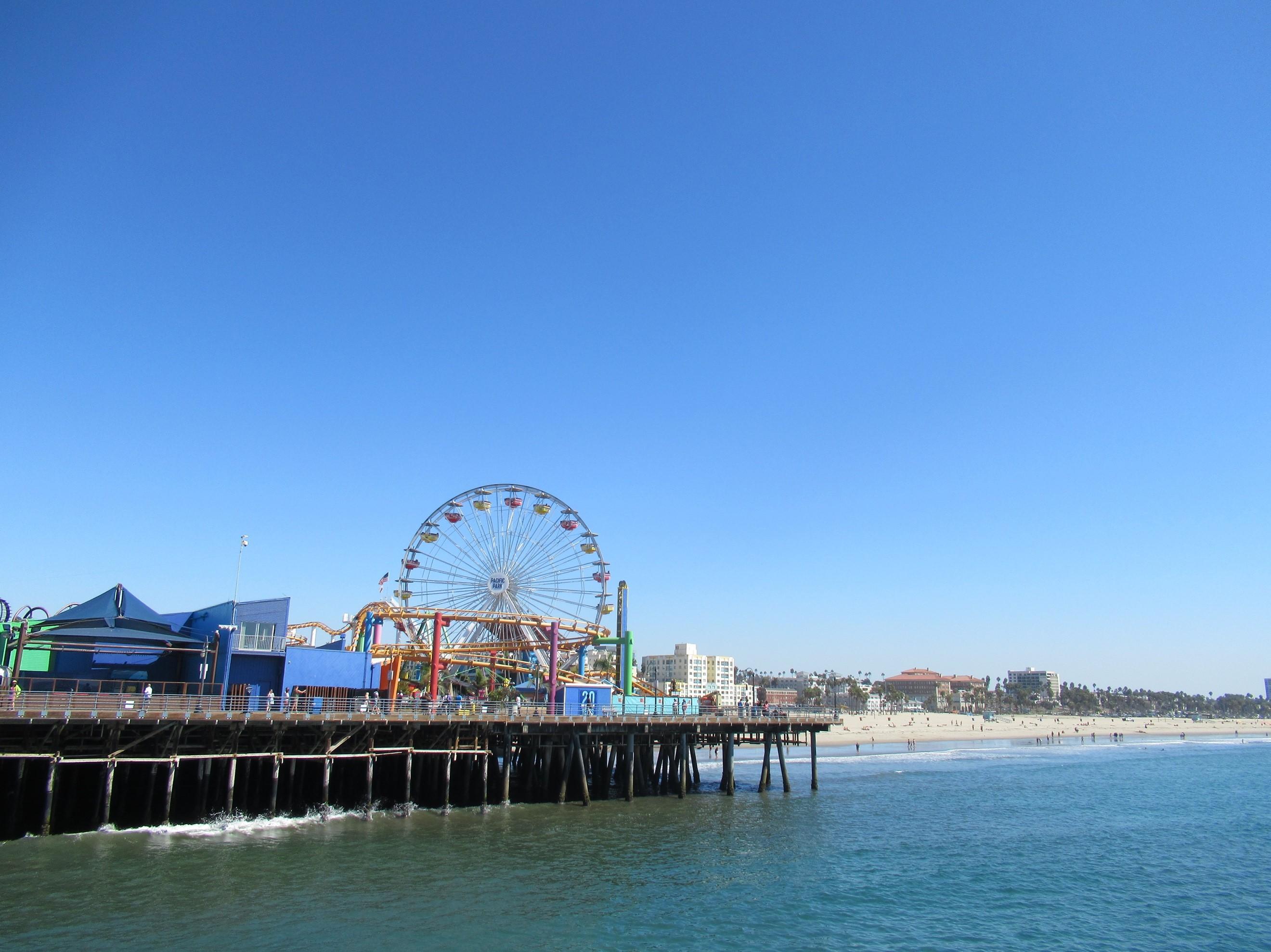 Roda gigante em Santa Mónica