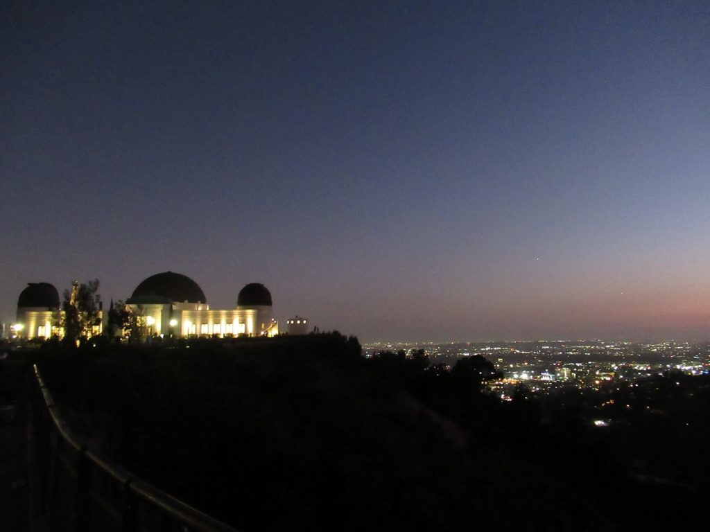 Paisagem em Los Angeles