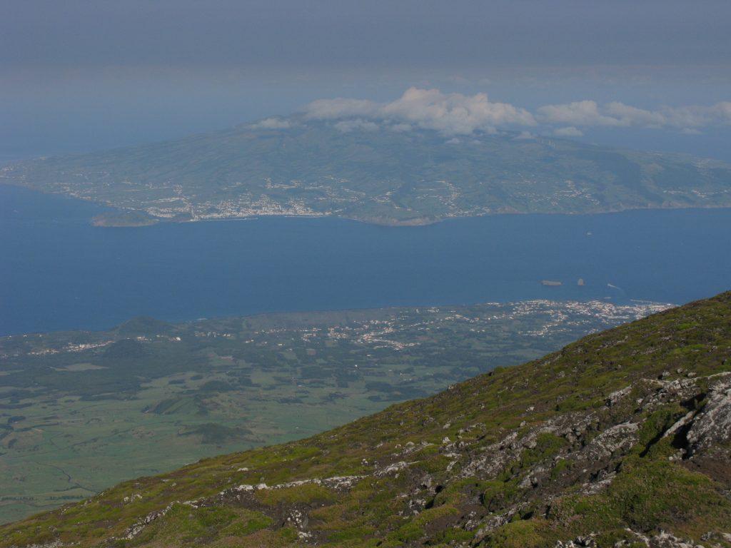 Súbida ao Pico nos Açores