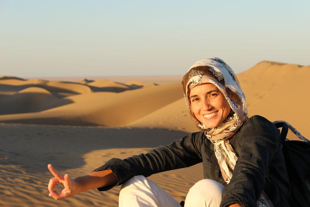 As minhas férias no Irão - Deserto