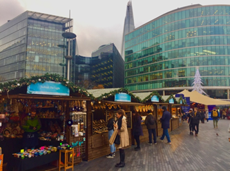 Mercado Christmas by The River em Londres