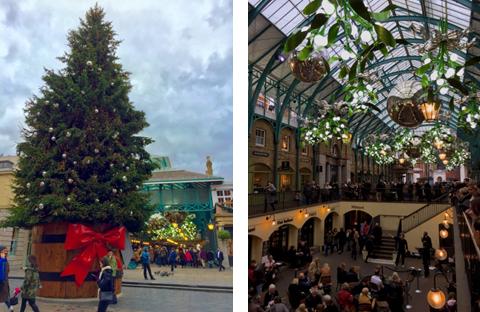 Mercado Leicester Square em Londres