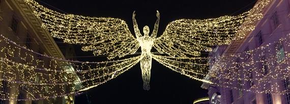 Iluminação de Natal em Londres