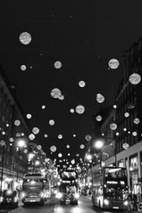 Decoração de Natal nas ruas de Londres