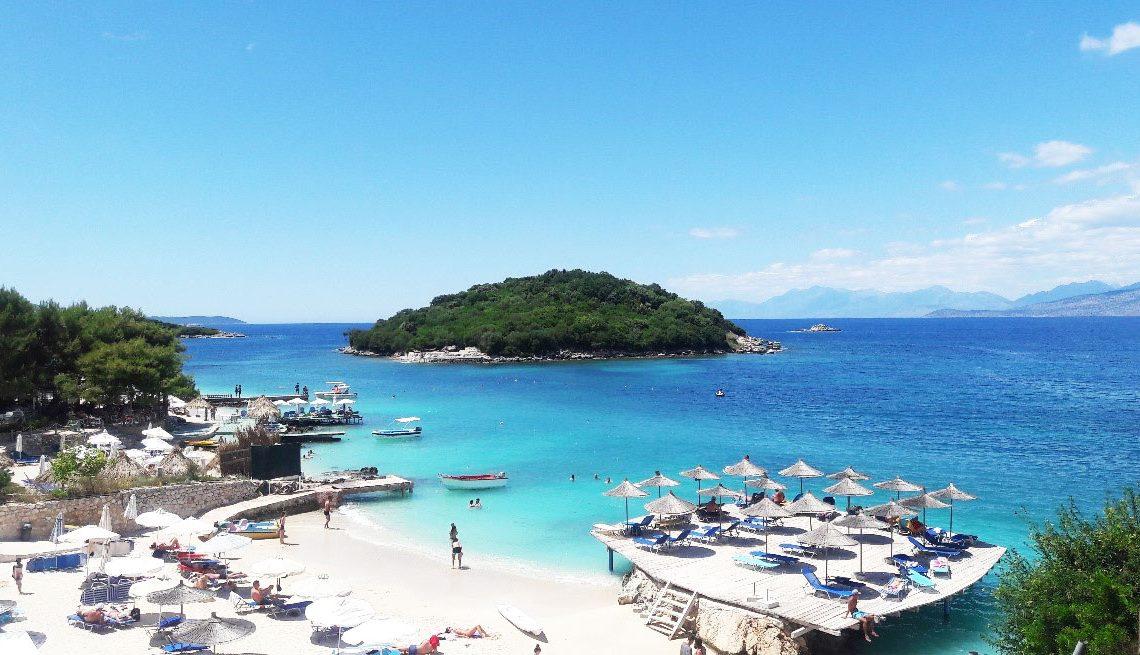 Ksamil - Praias na Albânia