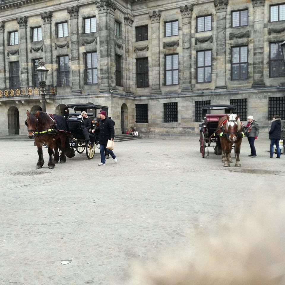 Dam Square - Amesterdão