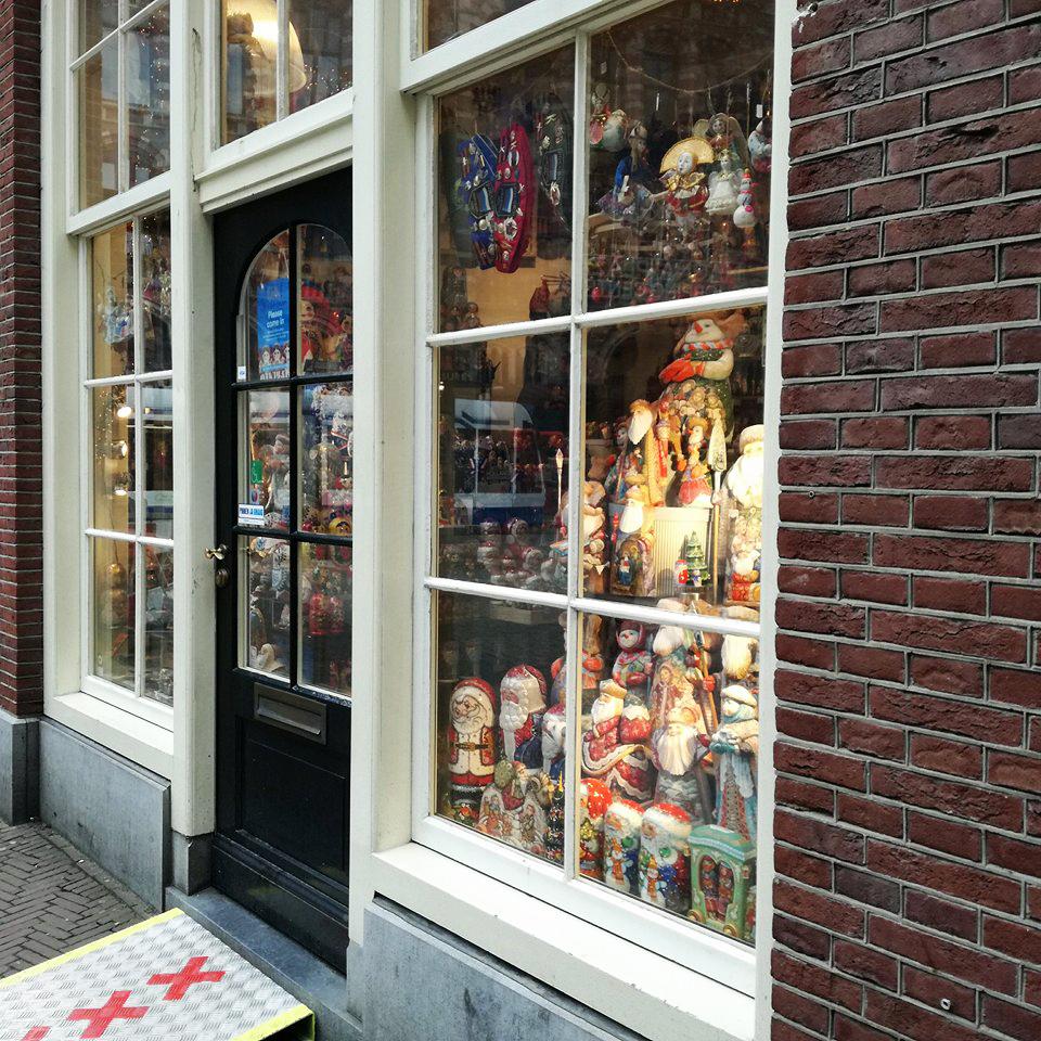 Comércio em Amesterdão
