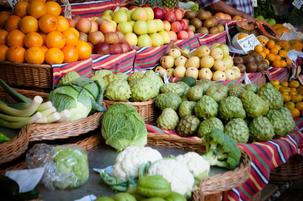 Mercado dos Lavradores na Madeira