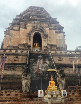 Old Wat Chedi Luang - Tailândia