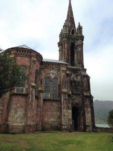 capela do jardim do José do canto, perto da lagoa das furnas - Açores
