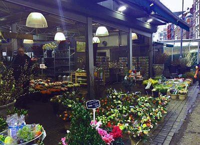 Flower Market em Amesterdão